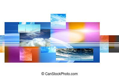 sky montage