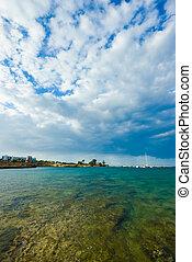 ??sky, morze, krajobraz