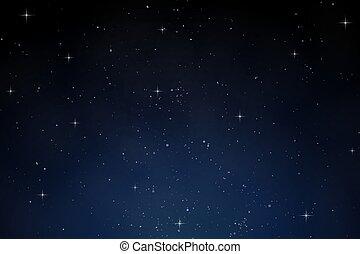 Sky night dark blue background