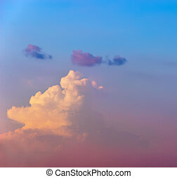 sky of the cloud
