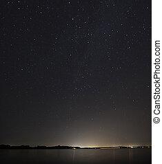 Sky Over Lake Okoboji