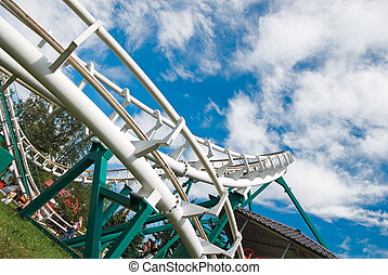 Sky roller coaster