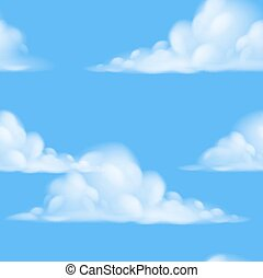 sky, seamless, bakgrund