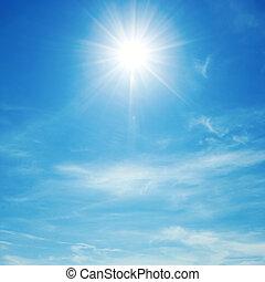 Sky, sun