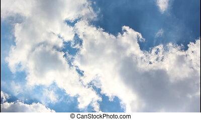 Sky, time lapse