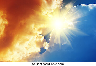 Sky to God  - Sky to God. Conceptual composition.