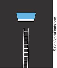 Sky Window Ladder