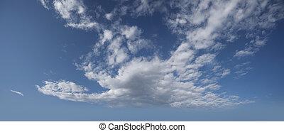 Sky with big cloud