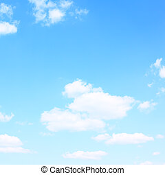 Sky with clouds - Background