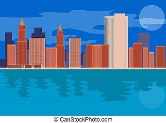 Skycrapers Buildings - Illustration of buildings skycrapers ...