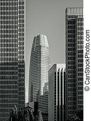 Skycrapers in San Francisco, California, United States of ...