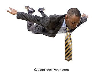 skydiving, üzletember