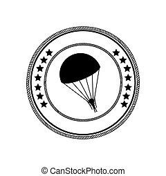 skydiving, sportende, extreem