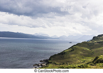 skye의 섬, 위의, 소리, 의, raasay