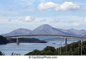 Skye Bridge - The Skye Bridge over the Loch Alsh, Scotland.