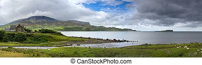 Skye panorama, Uig Bay