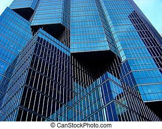 skyish diagonals - Toronto skyscraper