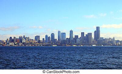 skyline., シアトル
