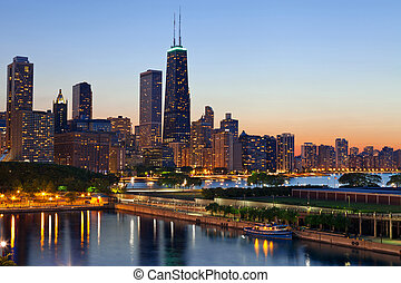 skyline., 芝加哥