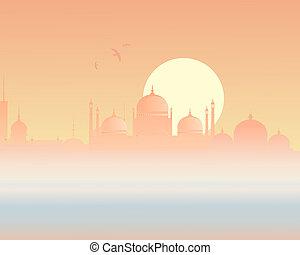skyline, asiatisch