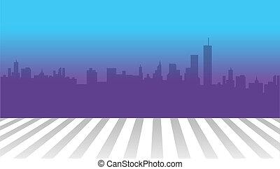 skyline, cidade