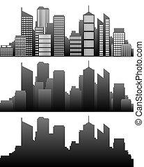 skyline città