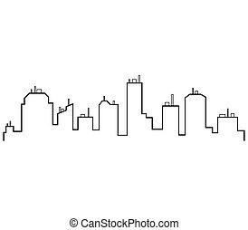 Skyline city