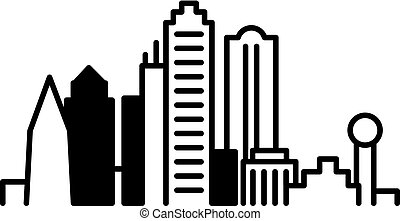 skyline, dallas