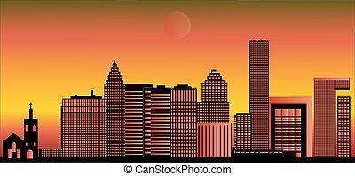 skyline houston