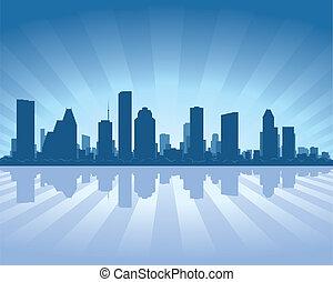 skyline, houston