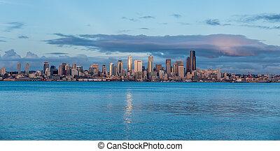 Skyline In Seattle