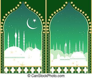 skyline, islam