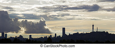skyline., johannesburg