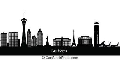 skyline, las vegas, las