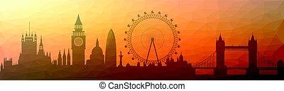 skyline, london