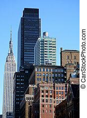 skyline ny york city