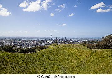 Skyline of Auckland