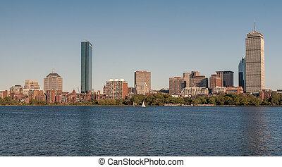 Skyline of Back Bay Boston, Massachusetts