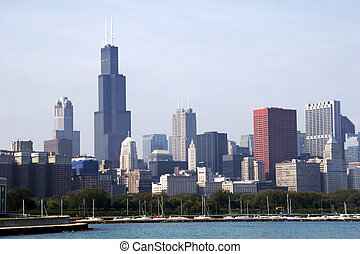 Skyline of Chicago SoC03 - Skyline of Chicago with Sears...
