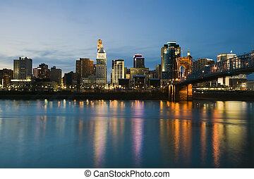Skyline of Cincinnati