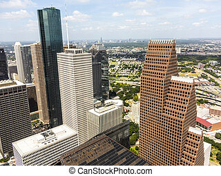 Skyline of Houston, Texas i