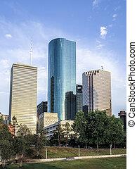 Skyline of Houston, Texas i