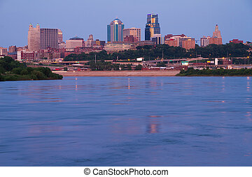 Skyline of Kansas City Missouri