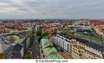 Skyline of Munich