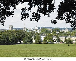 Skyline Of Oxford, UK