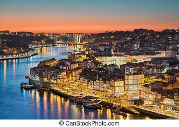 Skyline of Porto, Portugal
