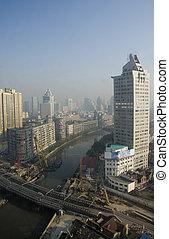 Shanghai - Skyline of Shanghai in China