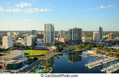 St. Petersburg, Florida - Skyline of St. Petersburg, Florida