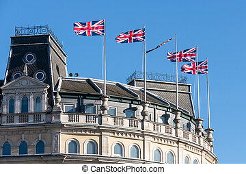 Skyline of the Grand Buildings 1 - 5 The Strand London
