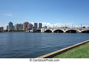 Skyline of West Palm Beach